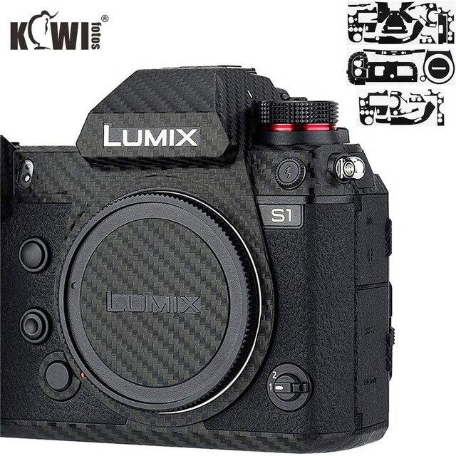 Anti Scratch Camera Body Skin Cover Protector Film for Panasonic Lumix S1 S1R Full Frame Camera 3M Sticker Carbon Fiber Pattern