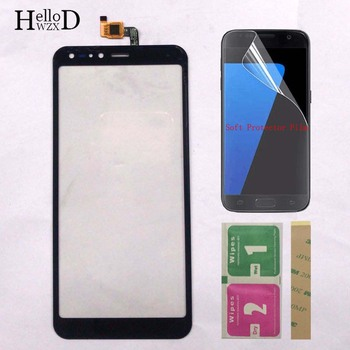 Touch Screen Panel For Ergo V570 Touch Screen Digitizer Touchpad Front Glass Sensor Repair TouchScreen Parts + Protector Film touch screen for bq bq 4072 bq 4072 strike mini bqs 4072 bqs4072 sensor touchscreen digitizer panel front glass protector film