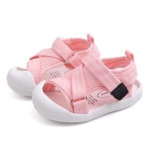 Image 5 - Verão infantil da criança sapatos do bebê meninas meninos da criança sapatos antiderrapante respirável de alta qualidade crianças anti colisão sapatos