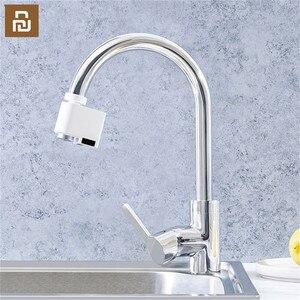 Image 5 - Оригинальный Автоматический Инфракрасный датчик Youpin ZAJIA, водосберегающее устройство для умного дома, для кухни, ванной комнаты, раковины