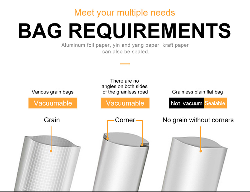 Flyer - Best Portable Food Vacuum Sealer With Free bags 10pcs Sealing Machine Packaging Machine