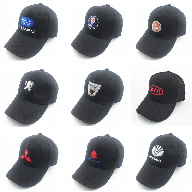 New 37 Style Car Models  Baseball Caps Wholesale 4 Seasons Embroidery For Bmw M E46 Renault Saab Peugeot Nissan GTR Baseball Cap