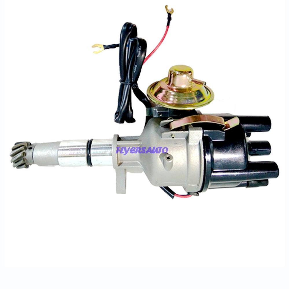 T2T84872 MD326637 MN131535 NEW IGNITION DISTRIBUTOR for <font><b>MITSUBISHI</b></font> 4G63 <font><b>4G69</b></font> CAT GP18K FORKLIFT 4 cyls cylinders FORKLIFT PARTS image
