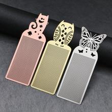 1 шт. Милая бабочка сова, крест стежка металлическая Закладка Сделай Сам серебряное Золотое рукоделие Рукоделие Вышивка ремесла счетный крест-Набор для вышивки