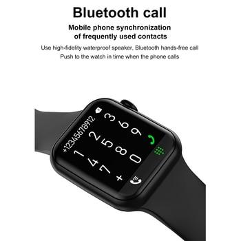 DT100 Plus Smart Watch Bluetooth Call Custom Dynamic Watch Face IP68 Waterproof Smartwatch Men Women for Apple Watch Iwo W26 3