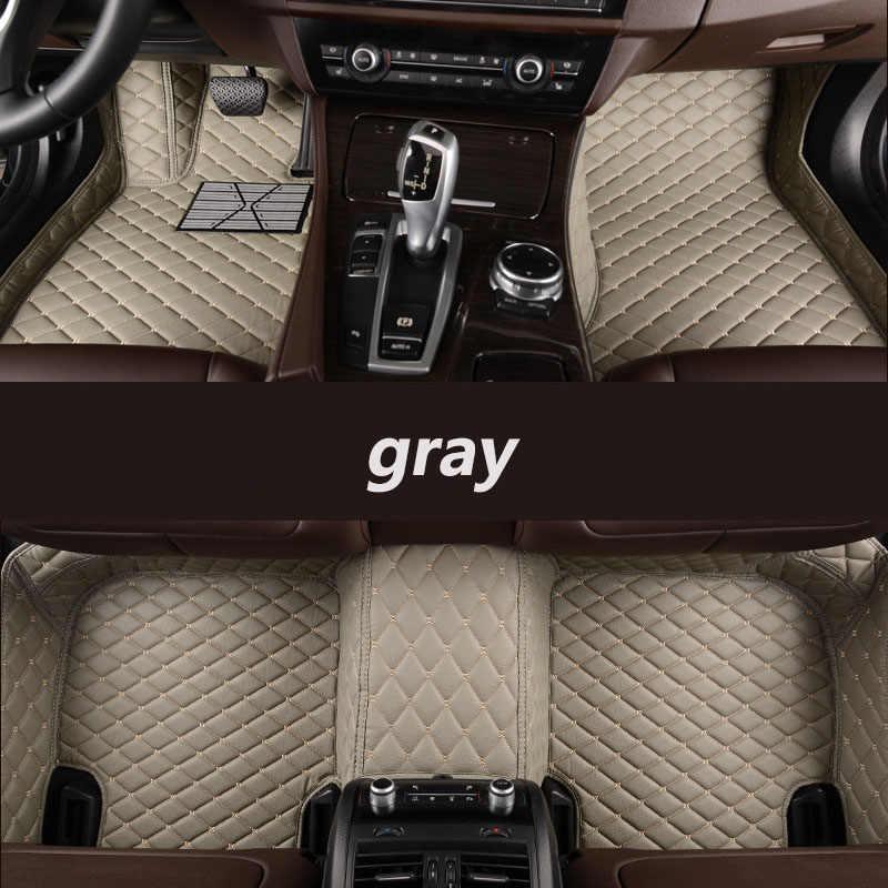 Kalaisike Xe Hơi Tùy Chỉnh Thảm Lót Sàn Dành Cho Xe Lexus Tất Cả Các Mô Hình ES IS-C Là LS RX NX GS CT GX LX570 RX350 LX RC RX300 LX470 Tự Động Tạo Kiểu