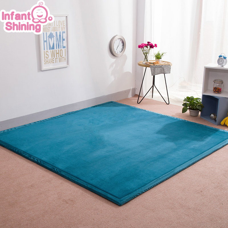 Infant Shining Baby Play Mat Puzzle Tatami Mat Living Room Thickened Bedroom Carpe 180 200cm Children