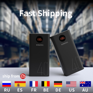 Image 5 - ROMOSS Zeus 40000mAh Power Bank 18W PD QC 3.0 Two way Fast Charging Powerbank Type C External Battery Charger For iPhone Xiaomi