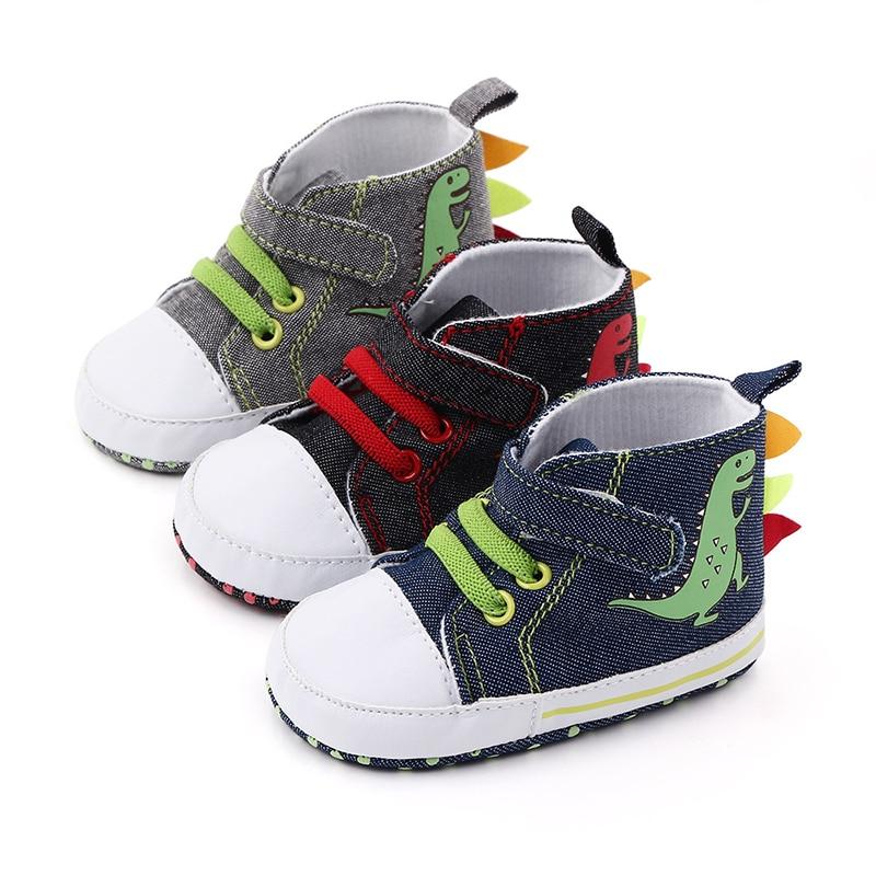 Newborn Baby Boys Girls Shoes Canvas