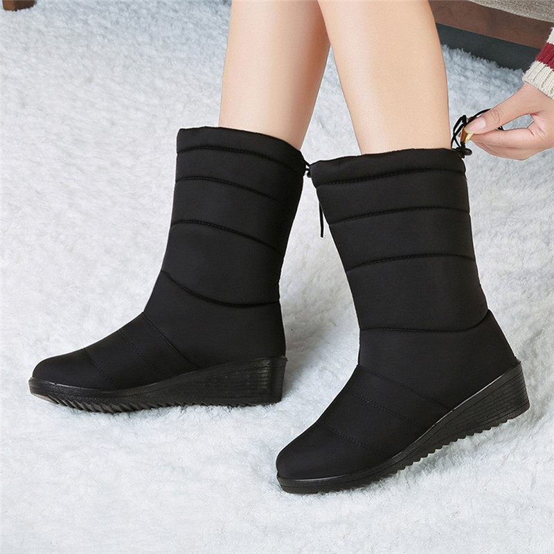 Winter-Boots-Women-Shoes-Waterproof-Mid-calf-Boots-Warm-Fur-Snow-Boots-Female-Winter-Women-Ankle (2)
