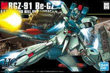 BANDAI GUNDAM HGUC 085 1/144 RGZ-91 Re-GZ Gundam model kids assembled Robot Anime action figure toys(China)