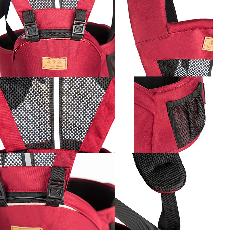 Breathable-Front-Facing-Baby-Carrier-Comfortable-Sling-Backpack-Pouch-Wrap-Baby-Kangaroo-Adjustable-Carrier-for-0