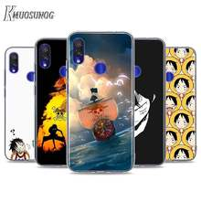 Transparent Soft TPU Cover Just One Piece for Xiaomi Redmi K30 K20 8 8A 7 7A 6 6A 5 5A GO Plus 4X Phone Case(China)