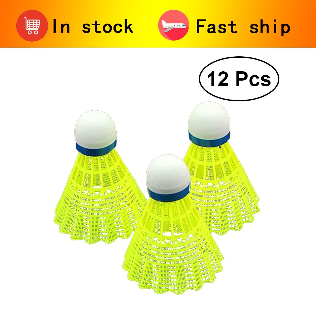 1pcs Nylon Shuttlecocks Great Stability Durability Advanced Hight Speed Badminton Ball Shuttlecocks For Outdoor Indoor