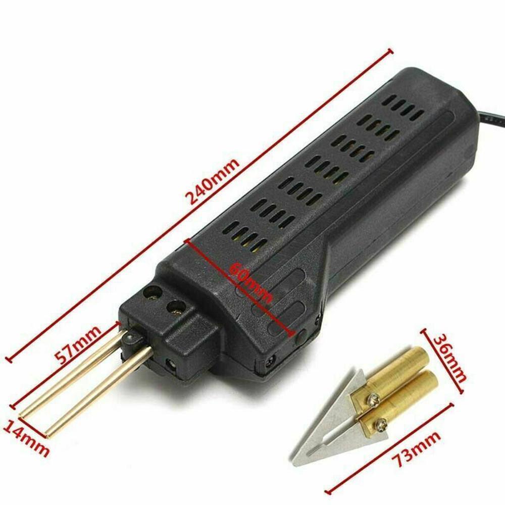 Hot Stapler 220V 100W Car Bumper Repairing Machine  Fender Fairing Welder Plastic Repair Kit Portable Welding Repair Tools