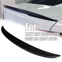 Карбоновый спойлер-дактейл крыло для BMW E92 купе 328i 335i M3 2007~ 2013