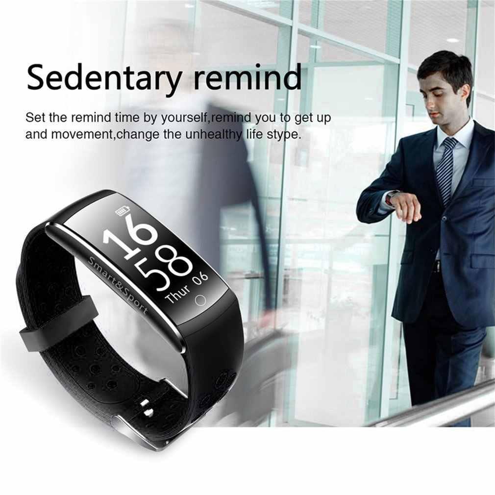 Умный Браслет Q8 OLED, водонепроницаемый, IP68, Bluetooth, монитор сердечного ритма, смарт-браслет, спортивный смарт-браслет, приложение для Android iOS