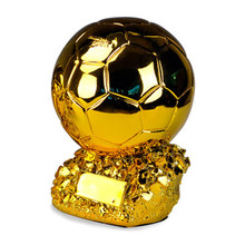 SOUVENIR TROPHY Soccer-Fans Colophony-Crafts Gold-Ball Football-Match Home-Furnishing-Articles