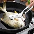 Кухонная утварь из нержавеющей стали 304  лопата для жареной рыбы  лопатка для стейков  бытовая лопата  лопата  шпатель  зажим для стейка  зажи...