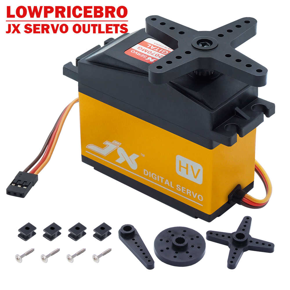 JX PDI-HV2070MG 73KG High-Voltage Metal Gear Core Digitale Servo 1/5 Auto compatibel SAVOX-0236 LOSI XL 5T BAJA