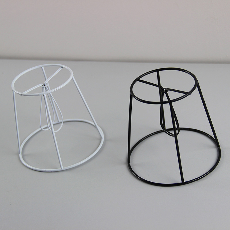 3PCS DIA 14cm Iron Lamp Shade Frame DIY, Clip On