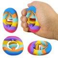 Новый непосед антистресс игрушки рукоятка кольцо для снятия стресса сенсорная игрушка для аутистов особых потребностей тревоги питчер сце...