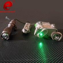 Linterna táctico Element Airsoft PEQ 15 Surefir M600, luz PEQ15 LA-5C láser verde IR, luz de arma táctica PEQ15
