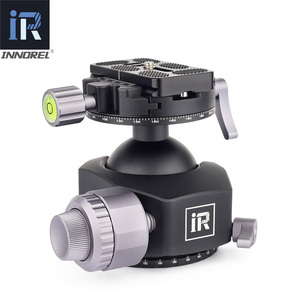 Image 2 - INNOREL L54/L44 tripod head for heavy duty digital SLR cameras with aluminum alloy panorama Low gravity center tripod ball head