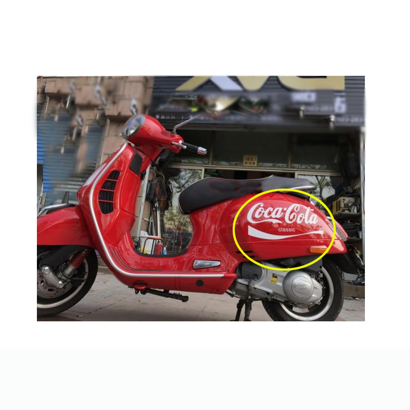 For VESPA GTS300 VESPA150  Decal Sticker Emblem Super With The Two Long Vents In Each Panel