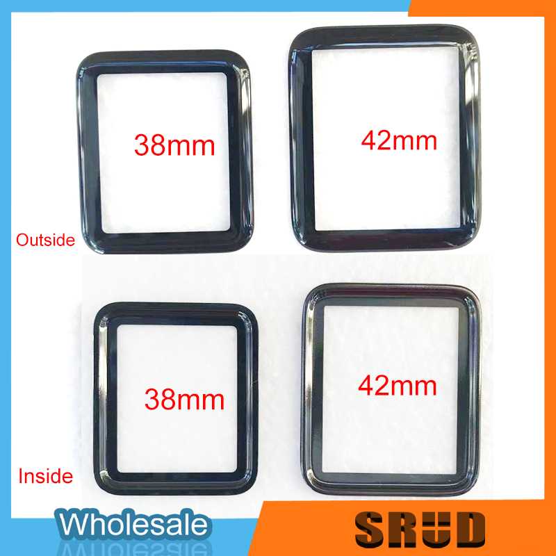 New LCD Display <font><b>Touch</b></font> <font><b>Screen</b></font> Digitizer Front Outer Glass Panel For <font><b>Apple</b></font> <font><b>Watch</b></font> Series 1 2 <font><b>3</b></font> 4 5 38mm <font><b>42mm</b></font> 40mm 44mm <font><b>Replacement</b></font> image