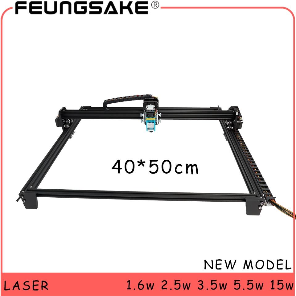 40x50 Laser Machine 2.5w PMW Control TTL,15w Laser Carving Machine 5500mw Laser,1.6w Laser Engraving Machine Desktop Wood Router