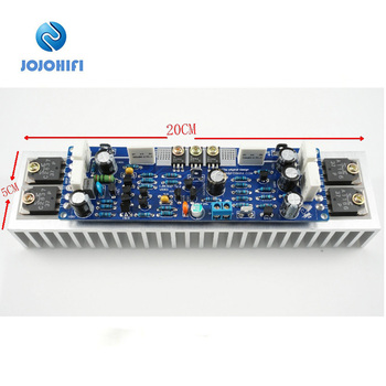 1PCS LJM L12-2 MONO Channels Ultra-low Distortion Sound Amplifier Audio Finished Board With/Without Heat Sink
