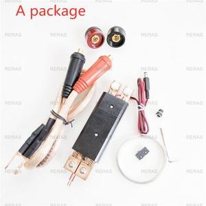Image 4 - DIY Spot Welding Machine Welding 18650 Battery Handheld Spot Welding Pen 25 Square welding pen With Function Of Regulating