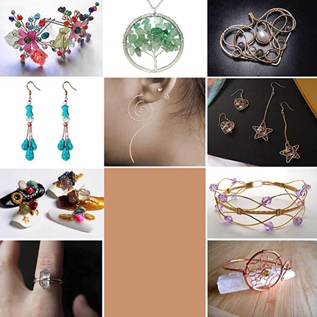 Copper Wire For Jewelry Making Supply Craft Diy Earring Bracelets