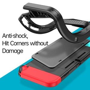 Image 4 - Custodia Baseus per Nintendo Nintendo Switch NS Cover posteriore Shell Coque custodia antiurto compatibile Con Console e controllo Joy Con
