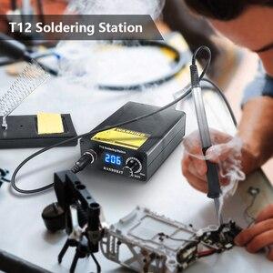 Image 5 - T12はんだステーション赤外線はんだステーションポータブルbgaリワークステーションはんだヒント溶接ツール