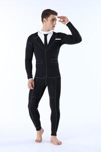 Image 4 - wetsuit Men 2mm Men Swimwear Sailing Clothing Rubber Pants for Man Spear Fishing Suit Triathlon  Diving suit Neoprene Swimsuit