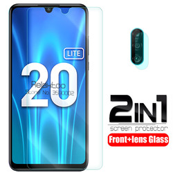 Защитное стекло для объектива камеры 2 в 1, для huawei honor 20 lite 20 light 6,15, закаленное стекло для защиты экрана honor 20 lite