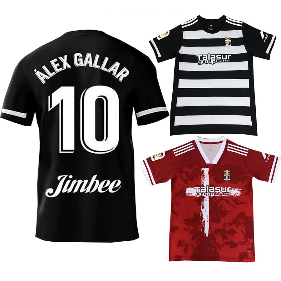 20 21 FC Cartagena camisetas de fútbol hogar tercer GALLAR 10 BULKA 13 HARPER 12 AGUZA 5 CLAVERIA 21 DELMAS 22 camisetas de fútbol