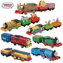 Electronal Original Thomas and Friends Trains Electric Edward Toys for Boys Diecast Car Use Battery Motor Metal Kid Toys Oyuncak