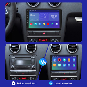 Image 5 - IPS DSP 4GB 2din Android 10 Auto Radio DVD Player Für Audi A3 8P S3 2003 2012 RS3 Sportback Multimedia Navigation stereo steuergerät