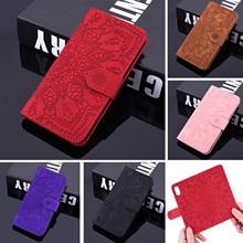 3D Blume Leder Fall Für Samsung A10 A40 A01 A21 A6 A7 A8 A9 Flip Brieftasche Coque Für Galaxy A71 a51 A21S A50 A70 A11 A41 Funda