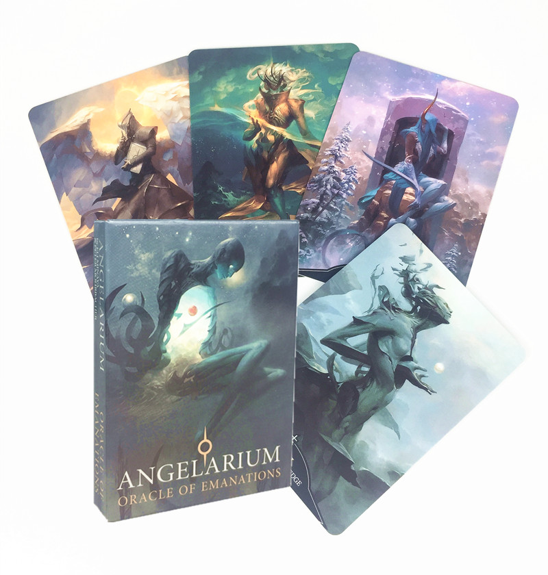 Jeu de Table de haute qualité, Version anglaise, Angelarium Oracle Of Emanations, jeu de Table, divertissement, partie familiale, PDF