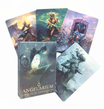 High quality English Version Angelarium Oracle Of Emanations Card Games Family Party Entertainment PDF Table Games