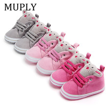 Hot Sale Newborn Baby Girls Boys Shoes Infant Toddler Cartoo