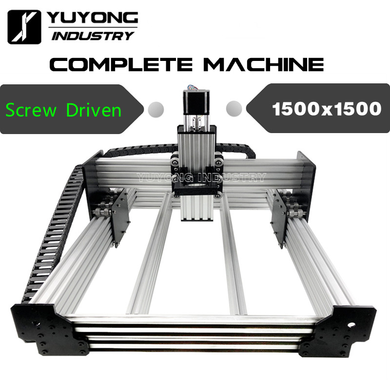 Screw Driven 1500mmx1500mm WorkBee CNC Complete Machine  Wood Metal Engraver Milling Machine Full Kit