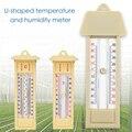 Цифровой максимальный минимальный термометр для измерения максимальной и минимальной температуры для теплицы, U-образный Измеритель темпе...