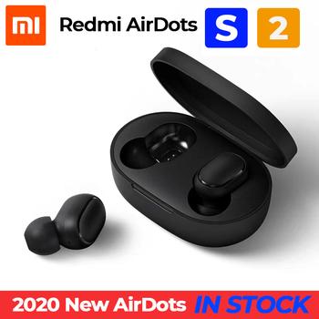 W magazynie 2020 nowy Xiaomi Redmi AirDots S lewy prawy tryb niskiego opóźnienia Mi Redmi AirDots 2 TWS słuchawki Bluetooth Pro BT5 0 TWSEJ0506LS tanie i dobre opinie Inne Prawda bezprzewodowe Ucho Do Internetu Bar Monitor Słuchawkowe Do Gier Wideo Wspólna Słuchawkowe Dla Telefonu komórkowego