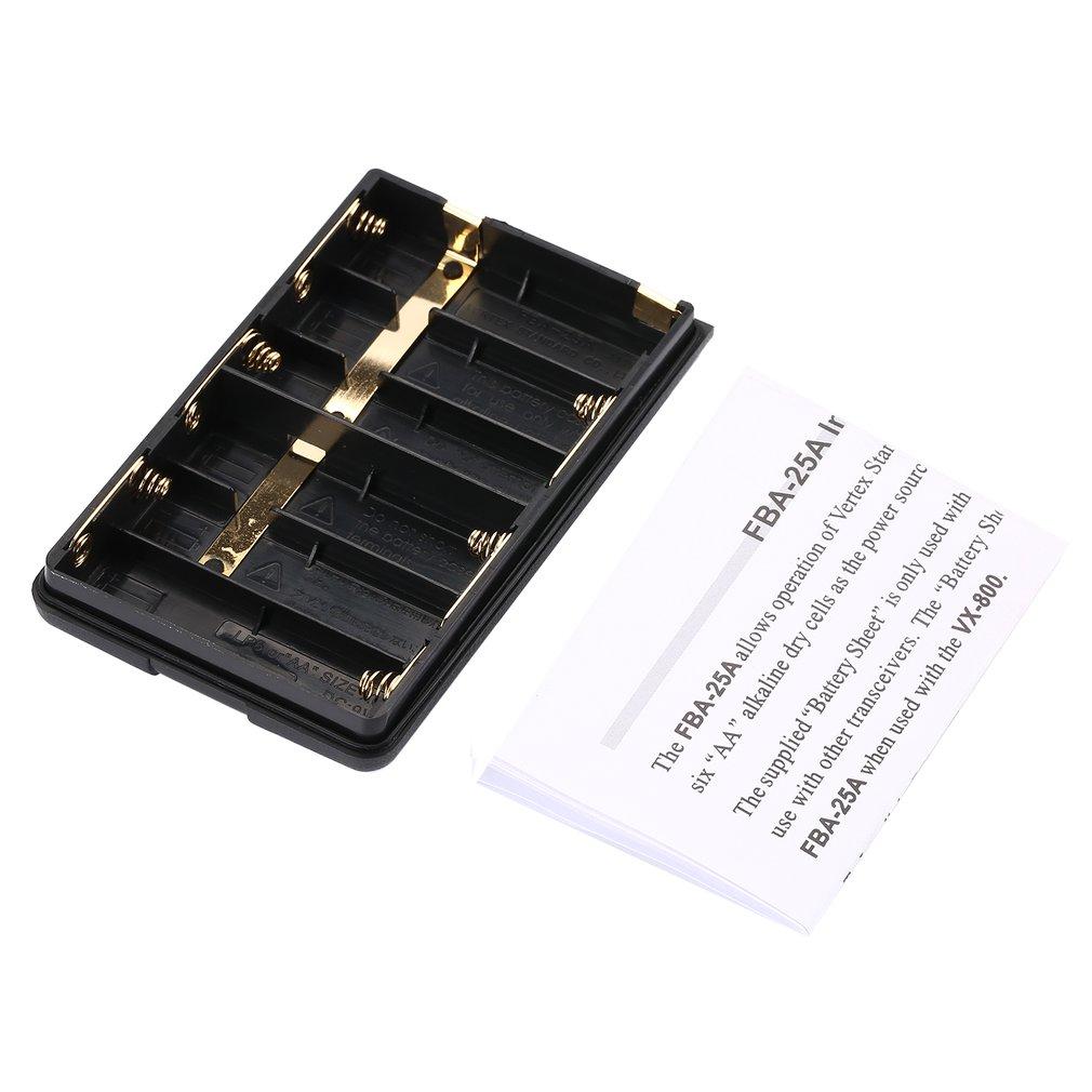 Xqf Fba-25A Batterie Box Case Pour Yaesu/Vertex Standard Ft60R Vx168 Vx160 Vx418 Vx410 Vx120 Vx127 Vx428 Hx370S