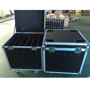 Image 4 - P5 and P10 cabinet Flight Case die casting aluminum 640mmX640mm aluminium die casting cabinet package, 1 Pack 6 flight case